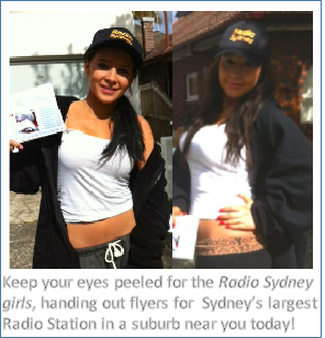 Keep your eyes peeled for the Radio Sydney